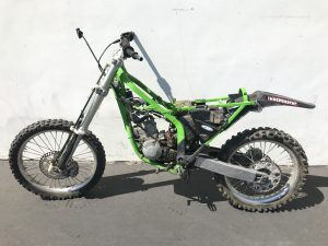 2000 Kawasaki KX125 Parts Bike